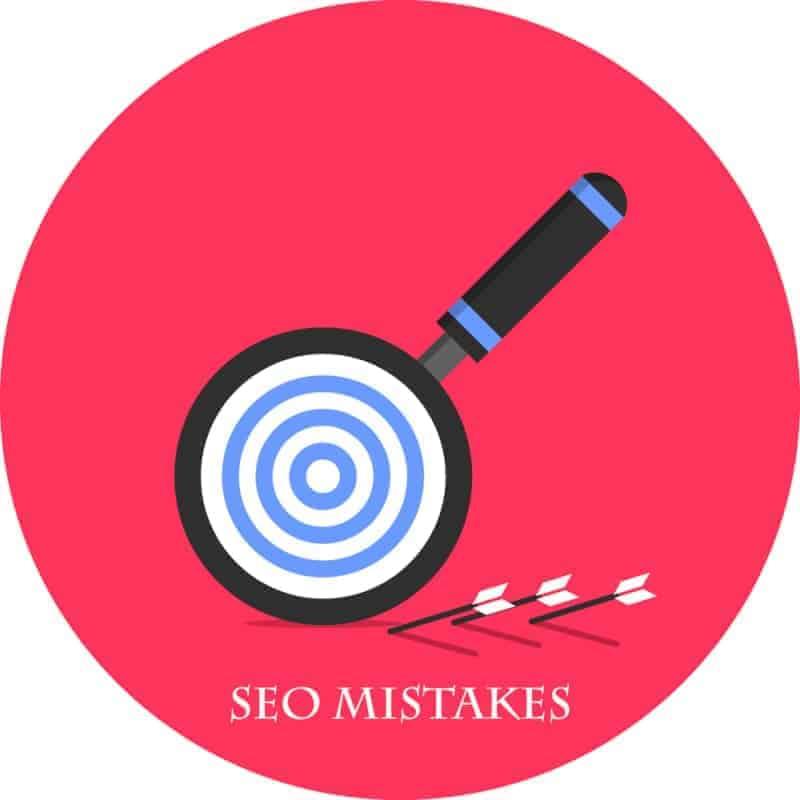 اخطاء السيو بمدونتك seo mistakes