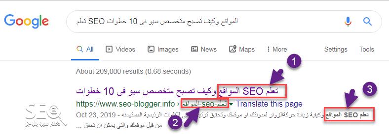 SEO Google فى كتابة محتوى متوافق مع السيو   تعلم سيو مجاناً