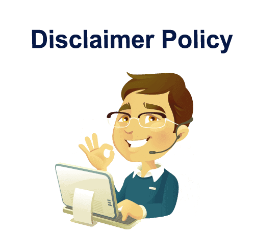 disclaimer policy
