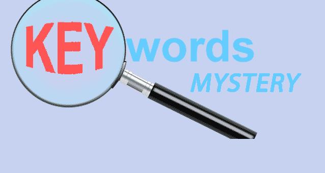 keyword mystery