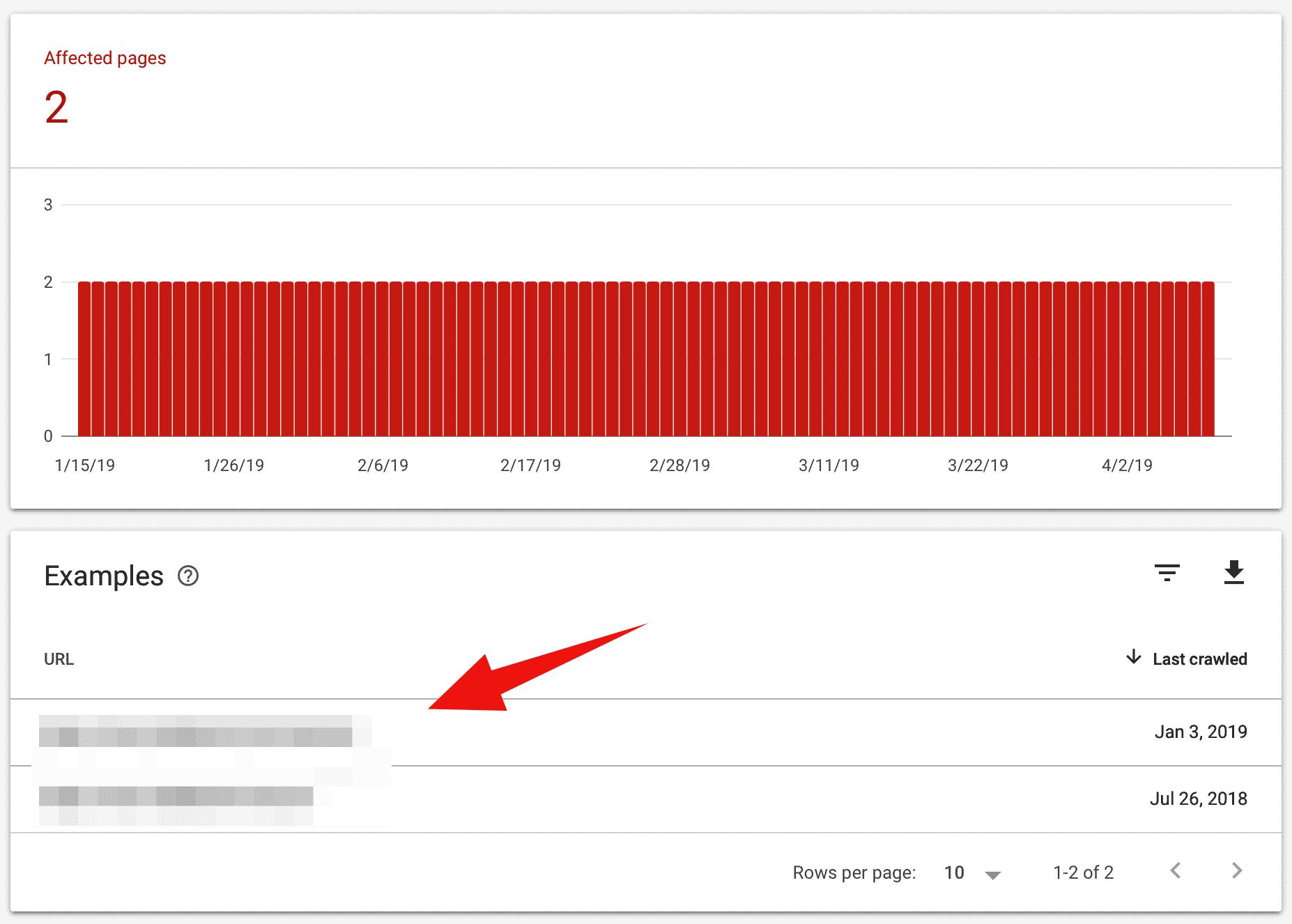 مشكلة تغطية الفهرس فى Google Search Console2